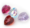 6228 Swarovski Elements Heart Pendants 28 mm