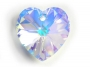 6228 Swarovski Elements Heart Pendant Crystal AB 10,3x10,3 mm