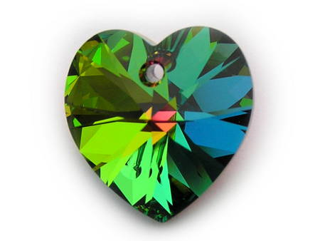 6228 Swarovski Elements Heart Pendant Crystal VM 10,3x10,3 mm